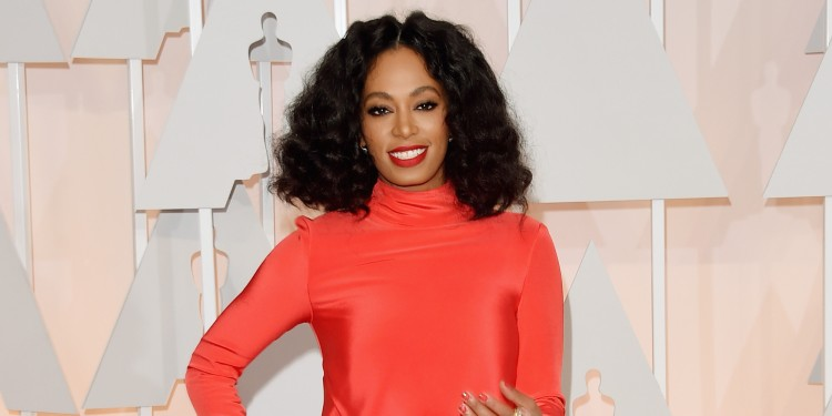 HOLLYWOOD, CA - FEBRUARY 22:  Recording artist Solange Knowles attends the 87th Annual Academy Awards at Hollywood & Highland Center on February 22, 2015 in Hollywood, California.  (Photo by Jason Merritt/Getty Images)